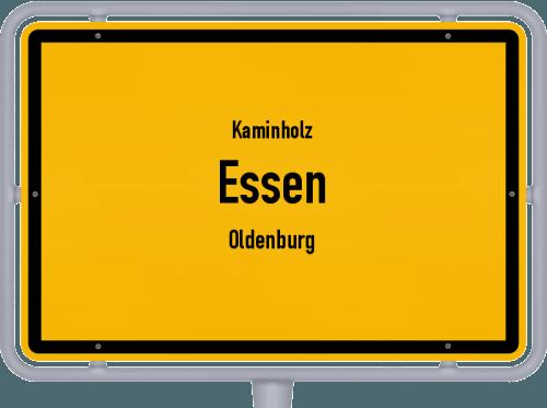 Kaminholz & Brennholz-Angebote in Essen (Oldenburg), Großes Bild