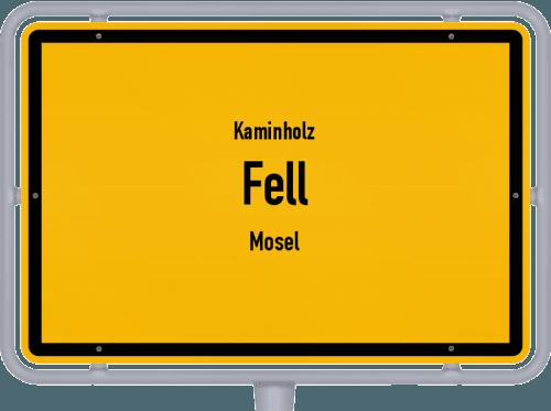 Kaminholz & Brennholz-Angebote in Fell (Mosel), Großes Bild