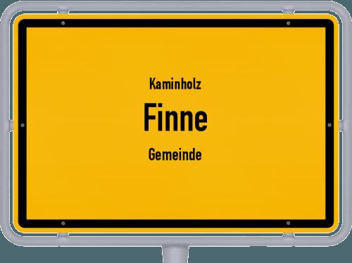 Kaminholz & Brennholz-Angebote in Finne (Gemeinde), Großes Bild