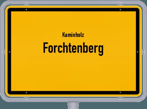 Kaminholz & Brennholz-Angebote in Forchtenberg, Großes Bild