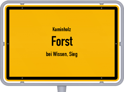 Kaminholz & Brennholz-Angebote in Forst (bei Wissen, Sieg), Großes Bild