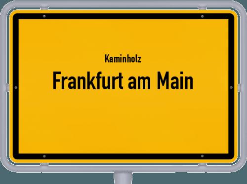 Kaminholz & Brennholz-Angebote in Frankfurt am Main, Großes Bild