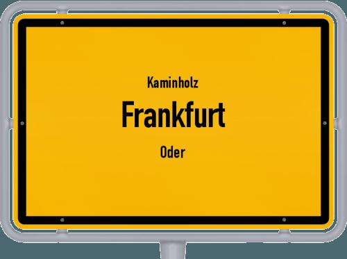 Kaminholz & Brennholz-Angebote in Frankfurt (Oder), Großes Bild
