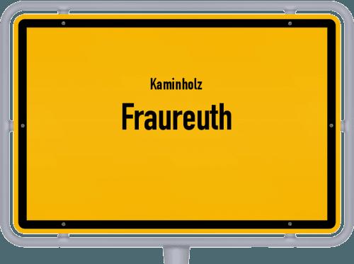 Kaminholz & Brennholz-Angebote in Fraureuth, Großes Bild