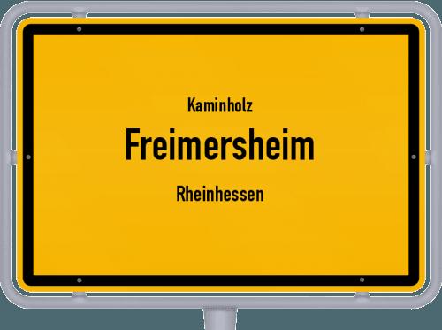 Kaminholz & Brennholz-Angebote in Freimersheim (Rheinhessen), Großes Bild