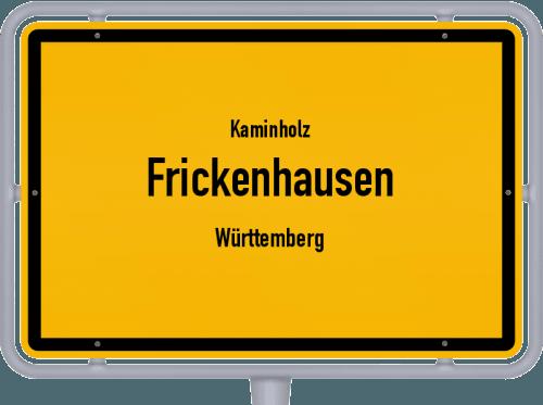 Kaminholz & Brennholz-Angebote in Frickenhausen (Württemberg), Großes Bild