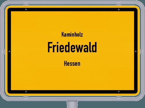 Kaminholz & Brennholz-Angebote in Friedewald (Hessen), Großes Bild