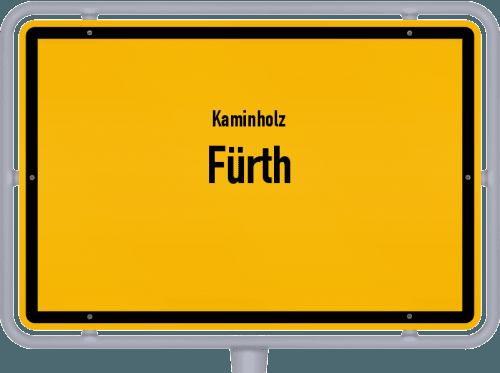 Kaminholz & Brennholz-Angebote in Fürth, Großes Bild