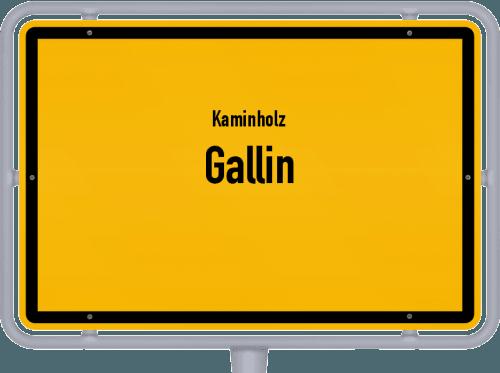 Kaminholz & Brennholz-Angebote in Gallin, Großes Bild