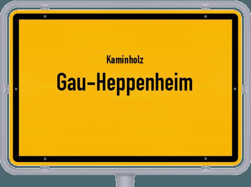 Kaminholz & Brennholz-Angebote in Gau-Heppenheim, Großes Bild