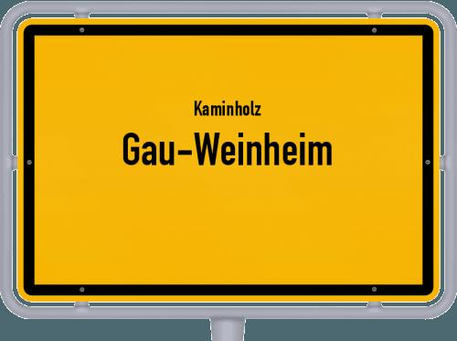 Kaminholz & Brennholz-Angebote in Gau-Weinheim, Großes Bild