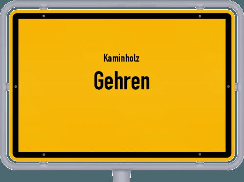 Kaminholz & Brennholz-Angebote in Gehren, Großes Bild