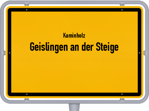 Kaminholz & Brennholz-Angebote in Geislingen an der Steige, Großes Bild