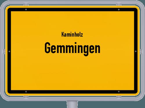 Kaminholz & Brennholz-Angebote in Gemmingen, Großes Bild
