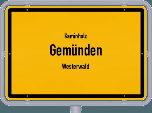 Kaminholz & Brennholz-Angebote in Gemünden (Westerwald), Großes Bild