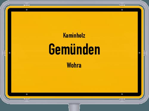 Kaminholz & Brennholz-Angebote in Gemünden (Wohra), Großes Bild