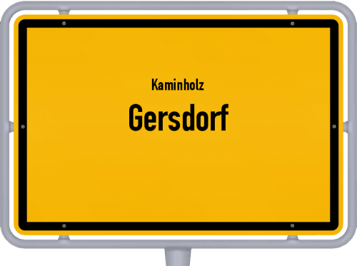 Kaminholz & Brennholz-Angebote in Gersdorf, Großes Bild