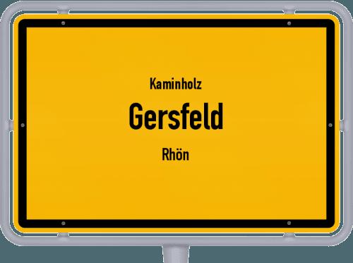 Kaminholz & Brennholz-Angebote in Gersfeld (Rhön), Großes Bild