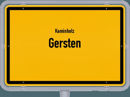 Kaminholz & Brennholz-Angebote in Gersten, Großes Bild