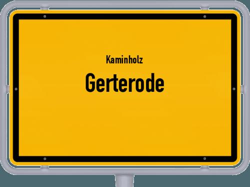 Kaminholz & Brennholz-Angebote in Gerterode, Großes Bild