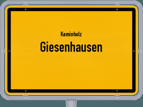 Kaminholz & Brennholz-Angebote in Giesenhausen, Großes Bild