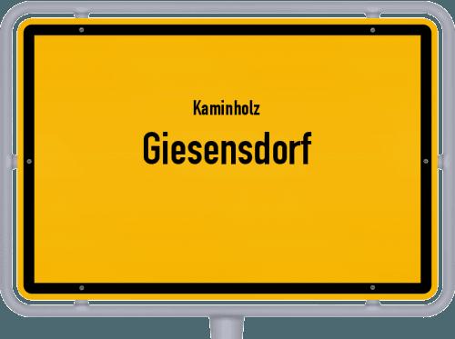 Kaminholz & Brennholz-Angebote in Giesensdorf, Großes Bild