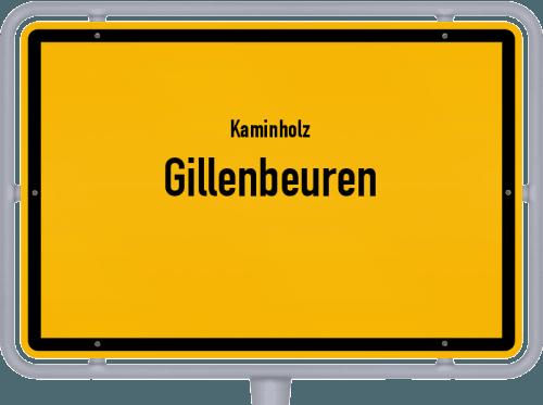 Kaminholz & Brennholz-Angebote in Gillenbeuren, Großes Bild