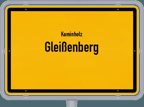 Kaminholz & Brennholz-Angebote in Gleißenberg, Großes Bild