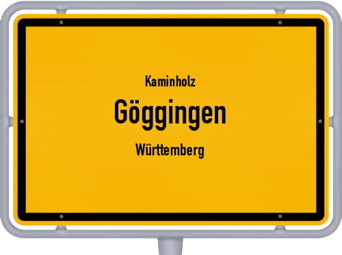 Kaminholz & Brennholz-Angebote in Göggingen (Württemberg), Großes Bild