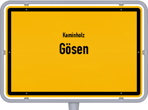 Kaminholz & Brennholz-Angebote in Gösen, Großes Bild
