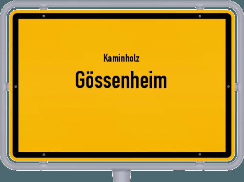 Kaminholz & Brennholz-Angebote in Gössenheim, Großes Bild