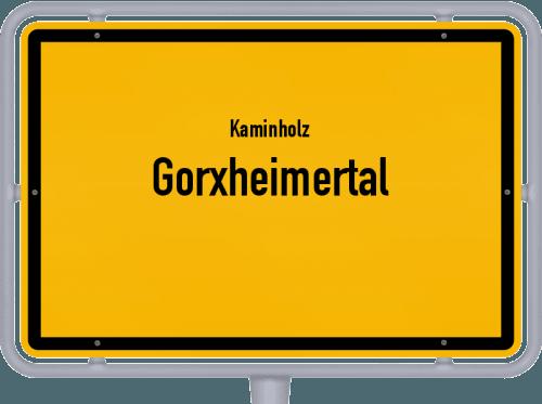 Kaminholz & Brennholz-Angebote in Gorxheimertal, Großes Bild