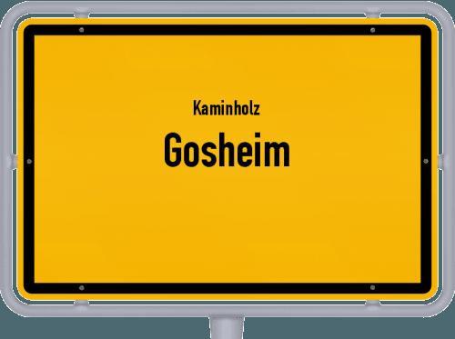 Kaminholz & Brennholz-Angebote in Gosheim, Großes Bild