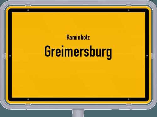 Kaminholz & Brennholz-Angebote in Greimersburg, Großes Bild