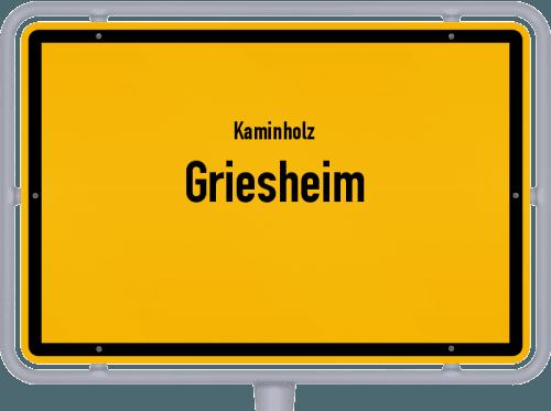 Kaminholz & Brennholz-Angebote in Griesheim, Großes Bild
