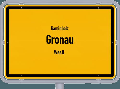 Kaminholz & Brennholz-Angebote in Gronau (Westf.), Großes Bild