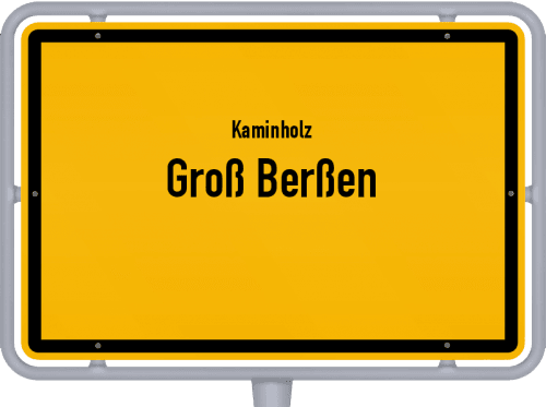 Kaminholz & Brennholz-Angebote in Groß Berßen, Großes Bild