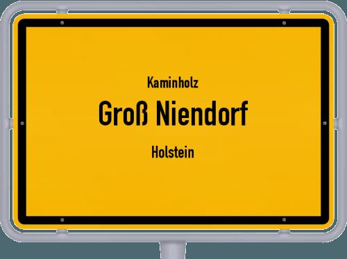 Kaminholz & Brennholz-Angebote in Groß Niendorf (Holstein), Großes Bild