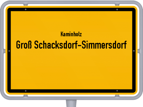 Kaminholz & Brennholz-Angebote in Groß Schacksdorf-Simmersdorf, Großes Bild