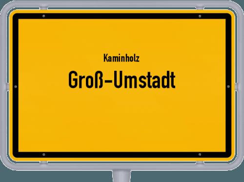 Kaminholz & Brennholz-Angebote in Groß-Umstadt, Großes Bild
