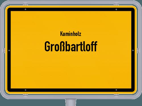 Kaminholz & Brennholz-Angebote in Großbartloff, Großes Bild