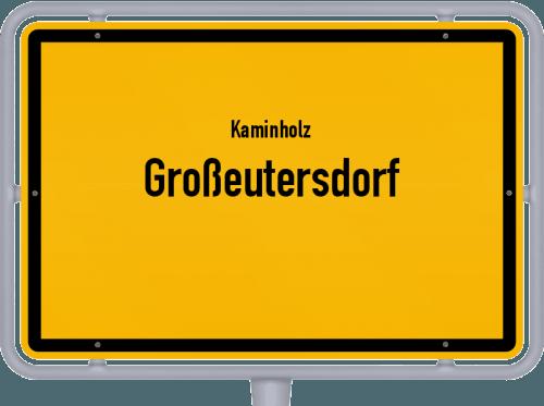 Kaminholz & Brennholz-Angebote in Großeutersdorf, Großes Bild