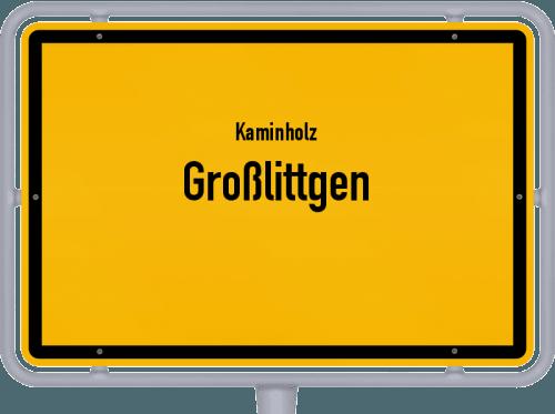 Kaminholz & Brennholz-Angebote in Großlittgen, Großes Bild
