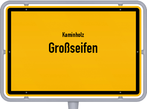 Kaminholz & Brennholz-Angebote in Großseifen, Großes Bild