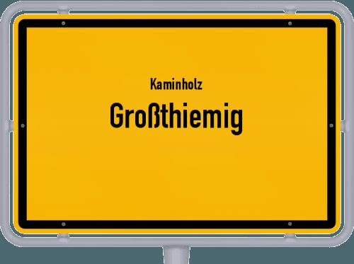 Kaminholz & Brennholz-Angebote in Großthiemig, Großes Bild