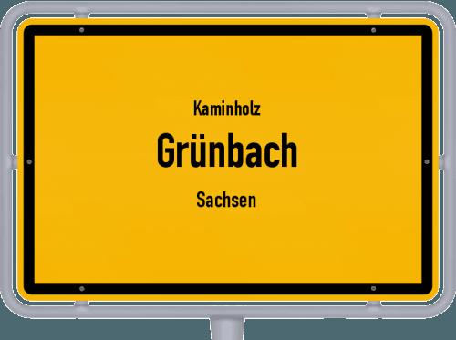 Kaminholz & Brennholz-Angebote in Grünbach (Sachsen), Großes Bild