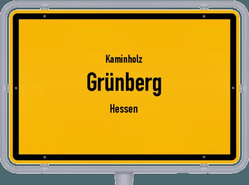 Kaminholz & Brennholz-Angebote in Grünberg (Hessen), Großes Bild