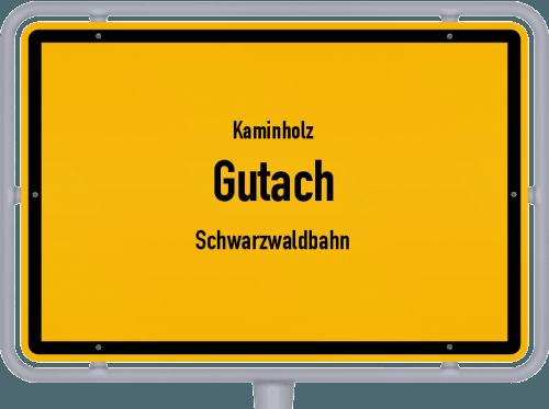 Kaminholz & Brennholz-Angebote in Gutach (Schwarzwaldbahn), Großes Bild