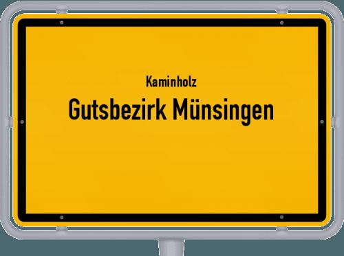 Kaminholz & Brennholz-Angebote in Gutsbezirk Münsingen, Großes Bild