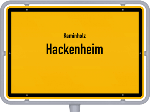 Kaminholz & Brennholz-Angebote in Hackenheim, Großes Bild